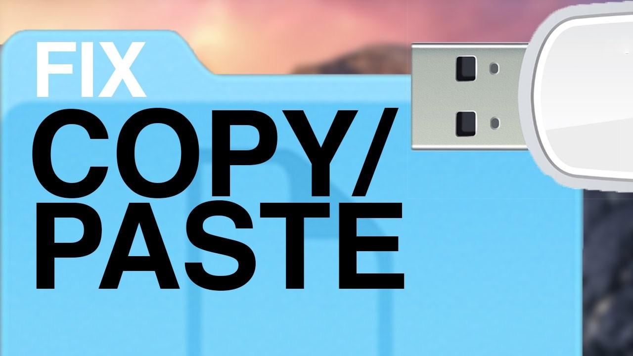 Проблема с буфером обмена: не работает copy/paste