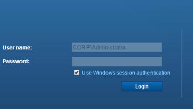 Окно подключения к vSphere Web Client